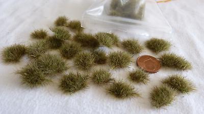 Responsabile Lot De 50 Touffes D'herbes - Z - Vert Automne Grandi Varietà