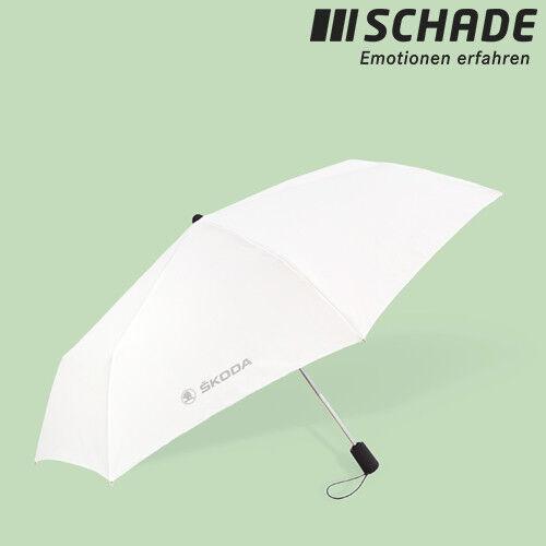 Original Skoda parapluie automatique minischirm sacs parapluie blanc mvf04-200