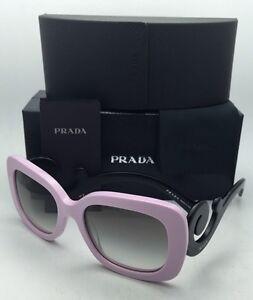 019571bee7ad New PRADA Sunglasses SPR 27O PDP-0A7 54-19 Pink   Black w  Grey ...