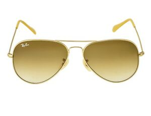 67ce1bb5d3e Ray-Ban RB3025 Aviator Gradient 112 85 Gold Frame Brown Gradient ...