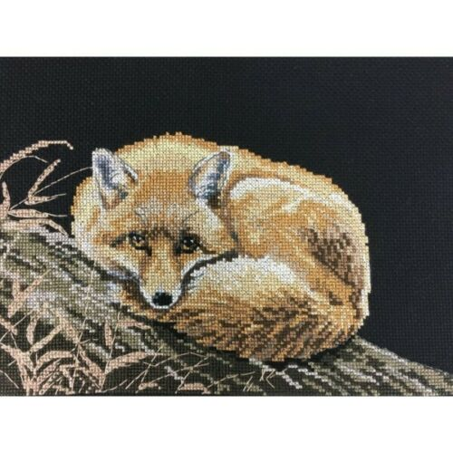 Pollyanna Pickering Cross Stitch Kit Animaux Wildlife Fox Tiger Hérisson