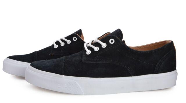 4cc39ac7f5 VANS Dillon Ca (pig Suede) Black white- Men s Sk8 Shoe Size 13 NWB ...
