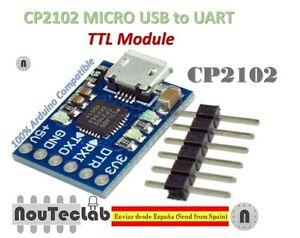 CJMCU CP2102 MICRO USB to UART TTL Module 6Pin Serial Converter