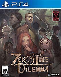 Zero-Time-Dilemma-Sony-PlayStation-4-PS4-2017-Brand-New-Factory-Sealed