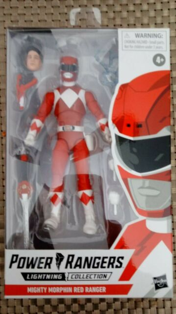 Mighty Morphin Power Rangers Lightning Collection - Red Ranger Action Figure-NIB