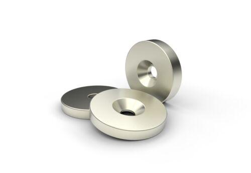 Gegenplatte Scheibe Neodym Haftplatte Magnet Gegenstück Größen wählbar