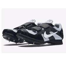 Nike Zoom TJ3 TRIPLE JUMP Track Shoes BLACK 474132 002 MEN 9.5 with Spikes & SRT