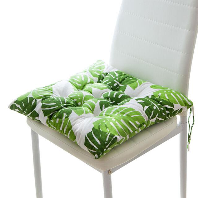 Chair Cushion Seat Thin Cushions Sitting Pad Office Kitchen Room Chair Rug LG
