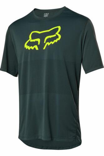 Fox Racing Mountain Bike Ranger SS Foxhead Jersey Emerald Size XL