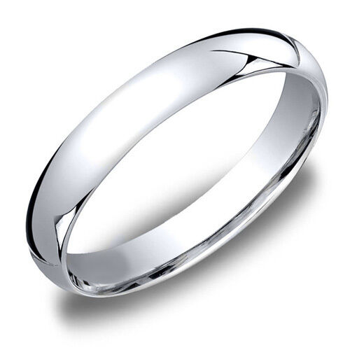 Wedding Band Cost Mens Average Low 3mm 14k White Gold Sterling Silver