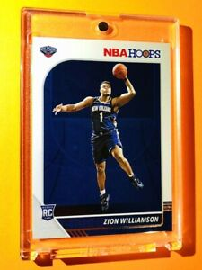 Zion-Williamson-PANINI-NBA-HOOPS-2019-20-HOT-ROOKIE-CARD-RC-258-Mint