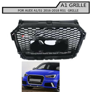 Details About Front Bumper Mesh Grill Black Honeycomb Grille For Audi A1 S1 2015 2018 Rs1