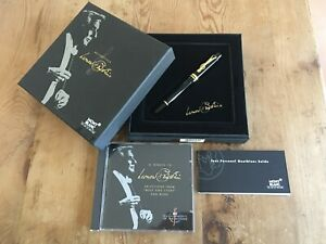 Used-LIKE-NEW-Fountain-Pen-MONTBLANC-Pluma-LEONARD-BERNSTEIN