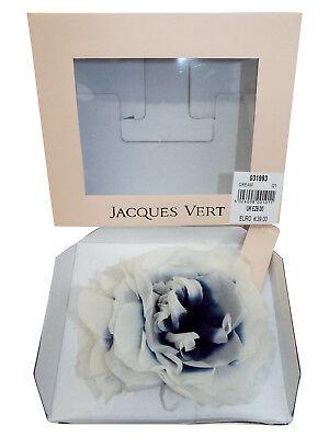Acquista A Buon Mercato 2 Nuovo Jacques Vert Bianco & Navy Aperto Pieno Fiore Parrucchino Rrp £ 60.00-mostra Il Titolo Originale Alleviare Il Calore E La Sete.
