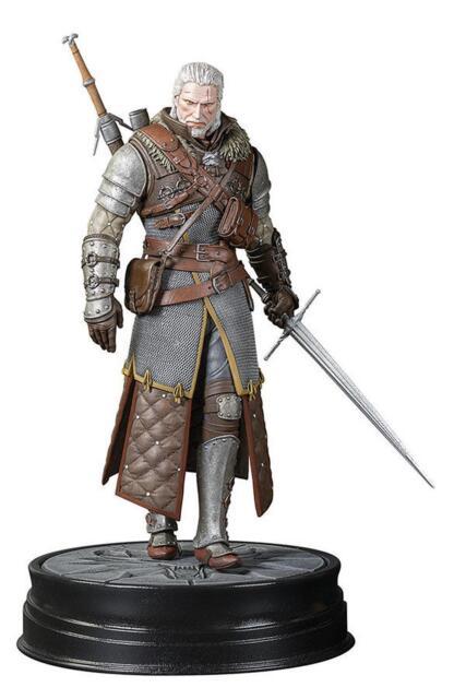 The Witcher 3, Wild Hunt Statue Geralt Grandmaster, Premium Sammler Figur 20 cm