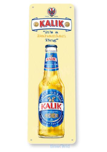 Kalik Bahamian Beer Sign Tin Metal Sign Bar Pub Lounge D158