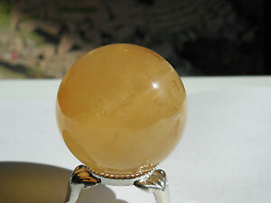 40mm-POLISHED-NATURAL-ORANGE-CALCITE-CRYSTAL-SPHERE-CHINA-96-31g-ORGONE-3