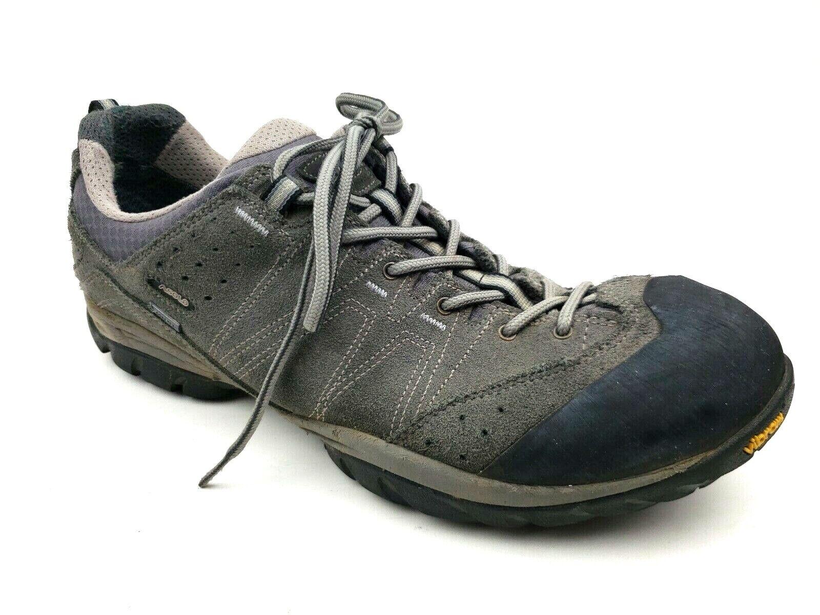 Asolo Agent Gv gris para Hombre De Ante Impermeable Gore-Tex Senderismo Al Aire Libre Zapatos
