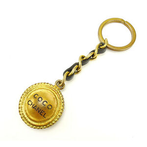 Chanel-key-ring-Key-holder-Gold-Woman-Authentic-Used-Y2345