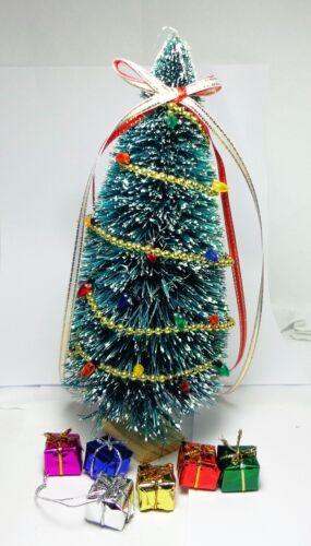 1:12 SCALA decorato Albero di Natale /& Regali Casa delle Bambole Accessorio in miniatura