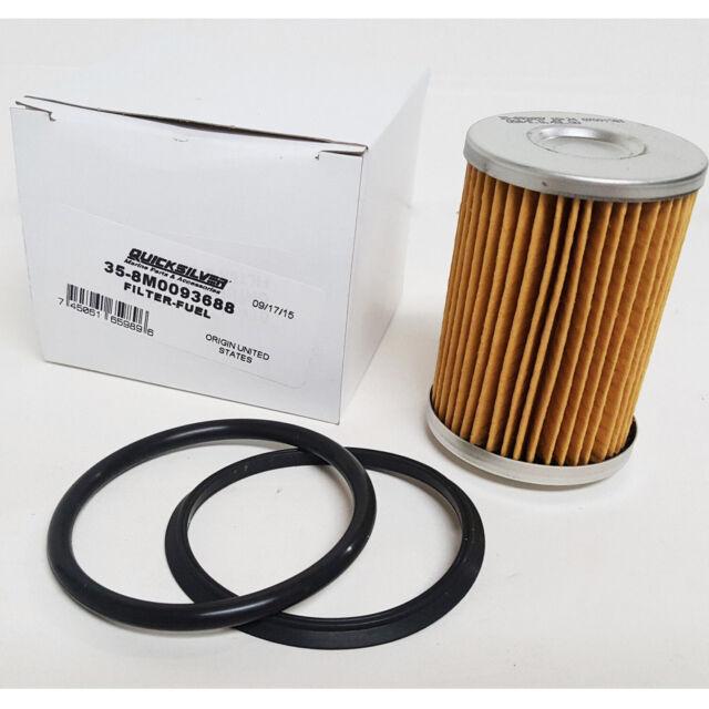 Mercury Mercruiser Quicksilver Oem Fuel Filter 35