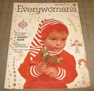 EVERYWOMAN'S (Dec 1957) Fair+ Condition Magazine, Woman's Guide to Better Living