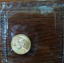 a sheet of 2014 China 1/20oz gold panda coin mint sealed 10 coins