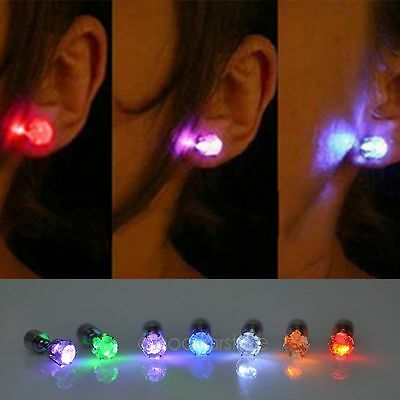 Mujeres Light Led Blinking Earrings Accessories for Party Pendientes SELL HOT DS