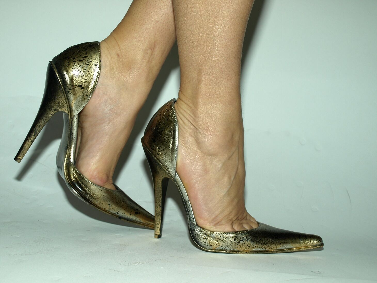 PATENT LEATHER noir or PUMPS Taille 5-16 HEELS-5,5'- PRODUCER POLAND FS 1498