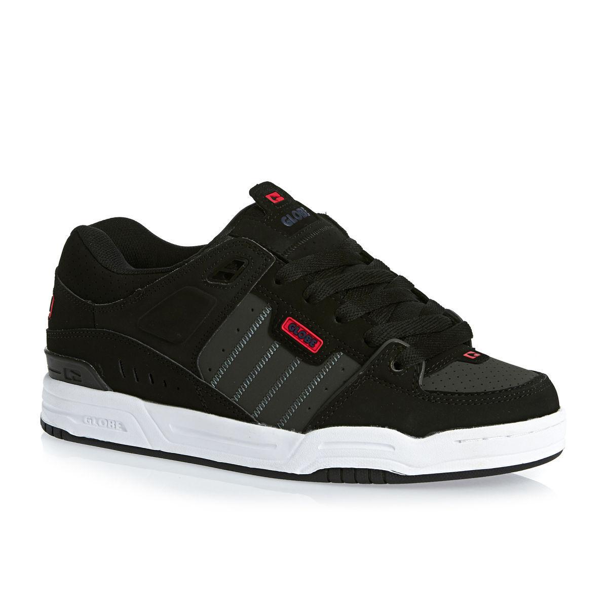 Zapatillas Skate Skate Skate Globe Zapatos FUSION Negro Noche Rojo Zapatos Hombre Mujer d5963a