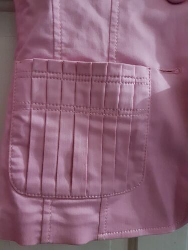 Women New Escada Eur Blazer Made Jacket 8 Italy Uk Career Pink In Brand 34 0z0wR1q