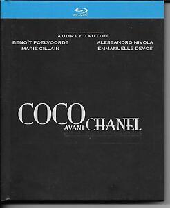 Details Sur Coffret Livre Blu Ray Coco Avant Chanel Tautou Poelvoorde Devos Gillain