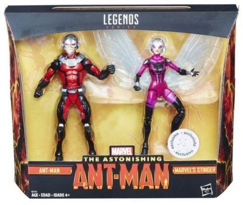 Marvel leggende sorprendente ant-man /& STINGER 6 pollici Action Figure 2 CONFEZIONE NUOVO