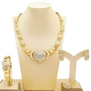 25-Hugs-amp-KISSES-Xo-Sets-Necklace-Bracelet-Earrings-Ring-Size-9