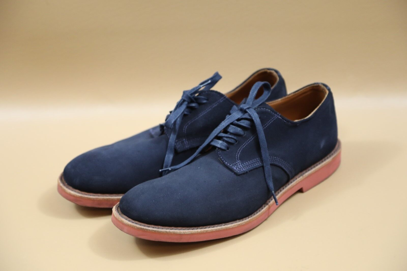 #374 Walk-Over Blue Leather Oxfords Size 10  MADE… - image 2