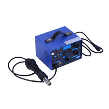 SMD 2in1 862D+ Soldering Iron Welder Hot Air Gun Rework Station + Accessories F0