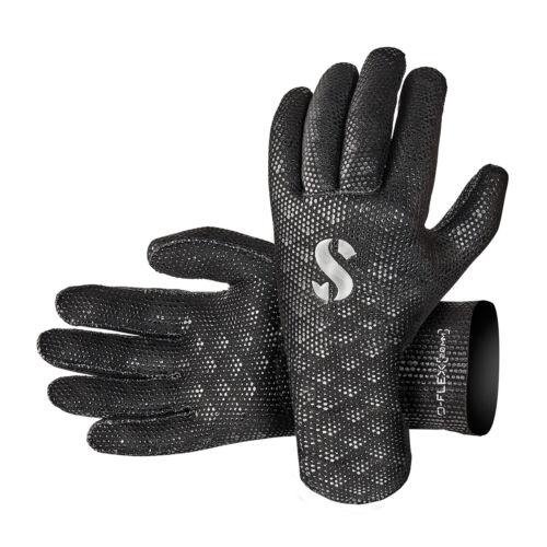 Scubapro 2mm D-flex Gloves Black XL//XXL