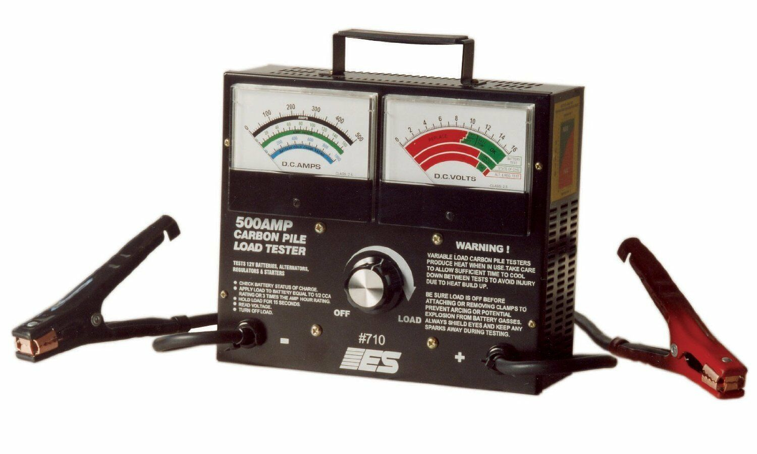 Electronic Specialties Inc. 710 500 Amp Carbon Pile Load Tester