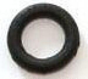 5 caoutchoucs / elastiques noir  neuf  7/16 em