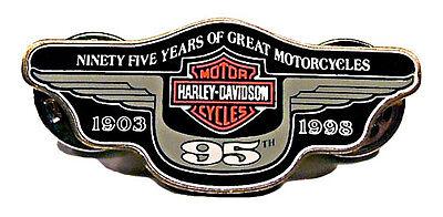 ROCKER 1998 VEST JACKET HAT PIN 98 HARLEY DAVIDSON OWNERS GROUP HOG H.O.G