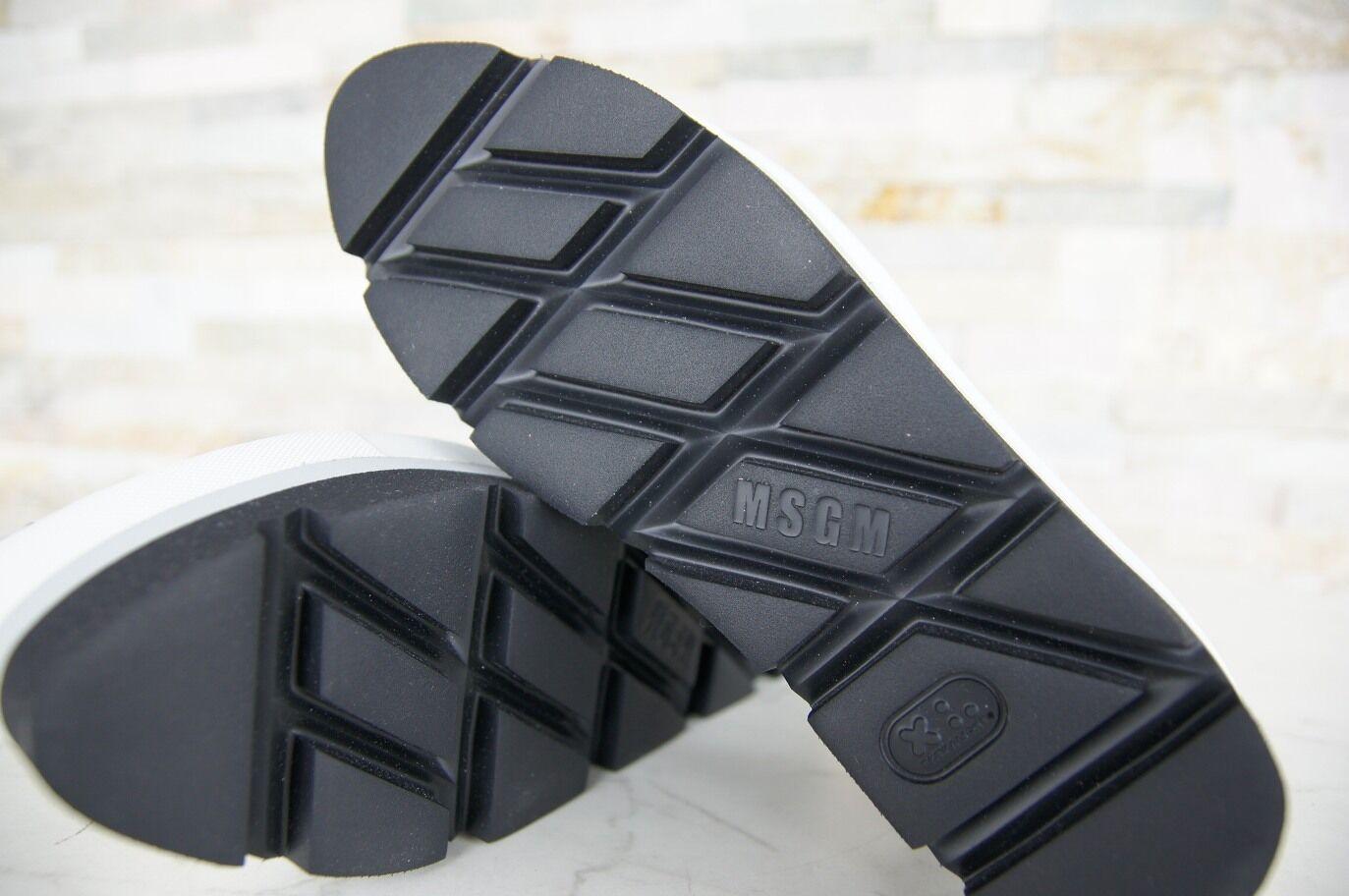 Msgm Gr 38 Plateau Pantofola Pantofola Pantofola Decolleté Scarpe Basse Nero Nuovo Origin. | Numeroso Nella Varietà  | Gentiluomo/Signora Scarpa  6063b5
