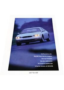 1993-Infiniti-J30-2-page-Vintage-Advertisement-Car-Print-Ad-J407