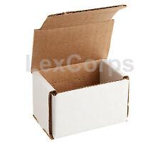 White Corrugated Mailers Many Sizes 50 100 200 Shipping Boxes