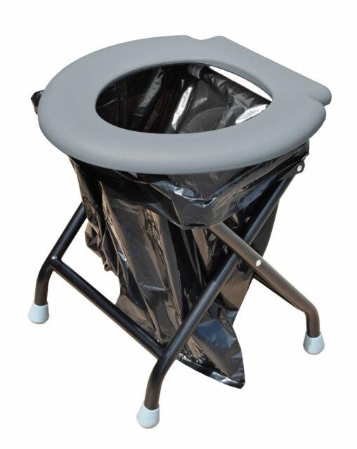 Klapptoilette Mobile Tragbar RV Toilette Camping Park Zelt Toilet WC Festival