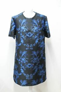STELLA-MCCARTNEY-Ladies-Laycie-Black-Brocade-Crystal-Detail-Dress-IT44-UK12-NEW