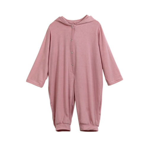 Newborn Baby Boys Girls Cartoon Hooded Romper Jumpsuit Clothes Playsuit Outfits