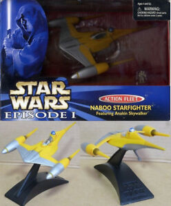 Star Wars Naboo Starfighter Tomy Combattant de figurines avec Anakin Skywalker