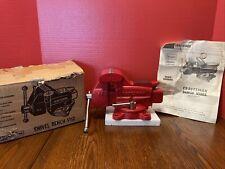New Listingnew Old Stock Craftsman 391 5180 Swivel Bench Anvil Vise 3 12 New