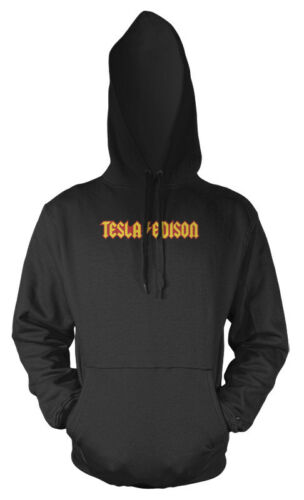 Tesla Edison Electrical Engineers Adults Hoodie