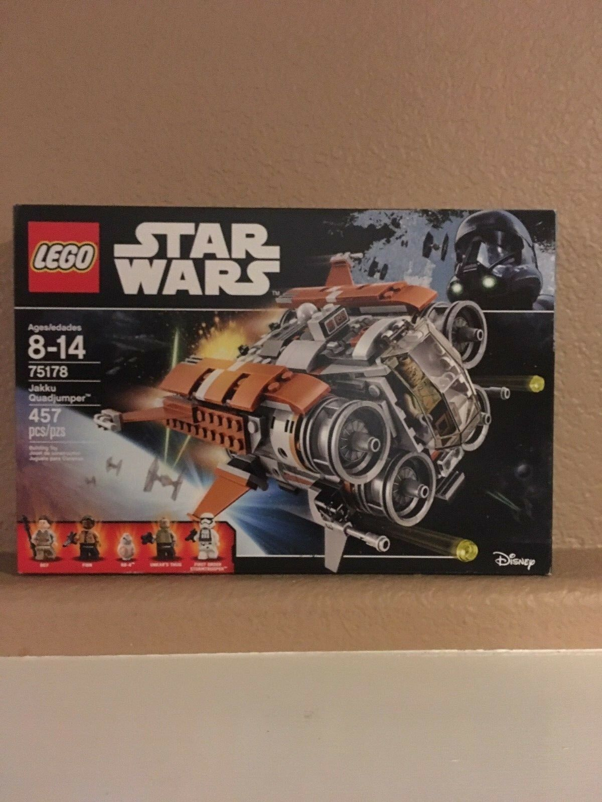 LEGO  New In Sealed Box - Star Wars   75178 - Jakku Quadjumper Age 8+ 457 Pcs